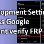 Developmentsetting apk Bypass Google account verify FRP lock