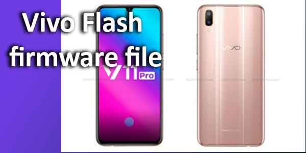 Vivo Flash firmware file