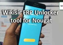 Wikisir FRP Unlocker tool for Nougat
