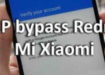 FRP bypass Redmi Mi Xiaomi