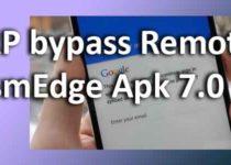 FRP bypass Remote GsmEdge Apk 7.0 baixar