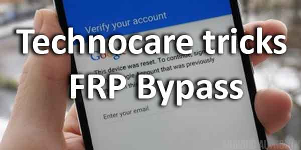Technocare tricks FRP Bypass