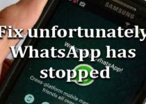 fix-unfortunately-whatsapp-stopped