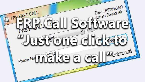 FRP Call Software