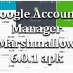 Google Account Manager Marshmallow 6.0.1 apk