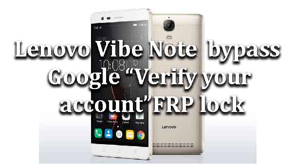 """Lenovo Vibe Note 
