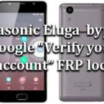 "Panasonic Eluga | How to bypass Google ""Verify your account"" FRP lock"