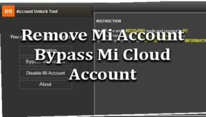 How to Remove Mi Account Bypass Mi Cloud Account - wikisir com