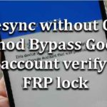 Sidesync without OTG method Bypass Google account verify FRP lock