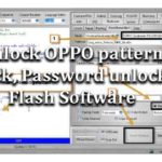 How to unlock OPPO pattern lock, Password unlock (hard reset) Flash Software