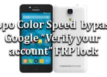 "Alcatel OneTouch | How to bypass Google ""Verify your account"" FRP"